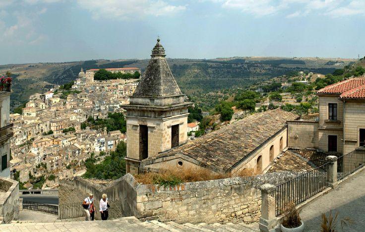 Splendida vista di Ibla da Santa Maria delle scale!!