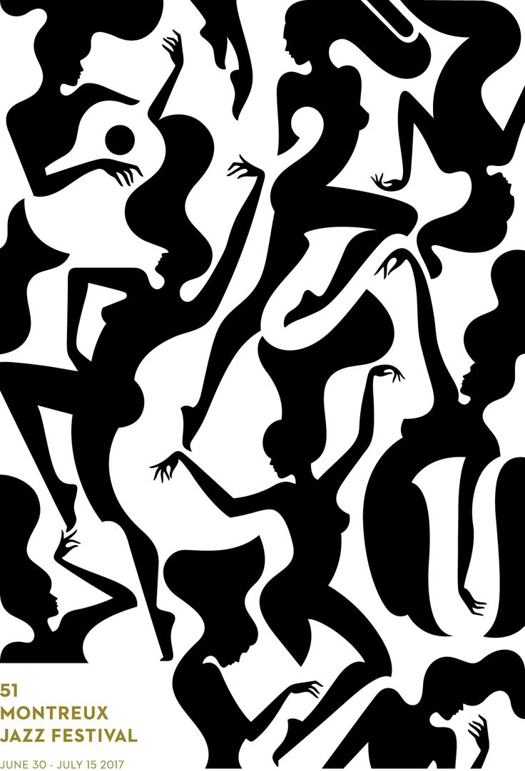 2017 montreux jazz festival poster x malika favre...