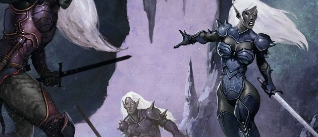 Sure, Drow are a playable race in D&D…but that's always been controversial. The dark elves may have had their origins with Gary Gygax in the original D&D, but it took R.A. Salvatore and a noble Drow named Drizzt to really flesh out their society and make them by far one of the coolest evil races in all of D&D.