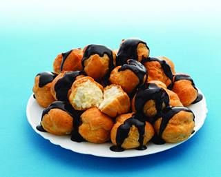 Iceland Quick Defrost Profiteroles soft, fluffy, easy and tastes ahhhh-mazing!