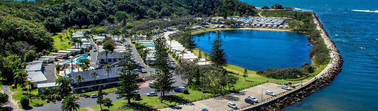 Nambucca Heads Caravan Park holiday cabins and camping sites - Caravan Sites