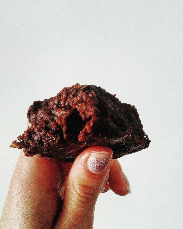 Vegan Stovetop-Cake Chocolate Walnut Brownie for One