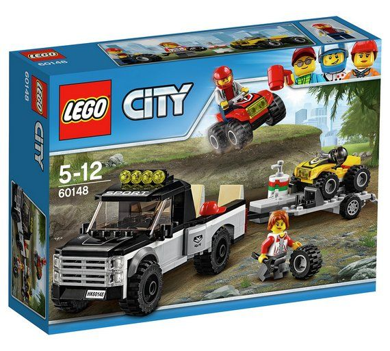 Buy LEGO City ATV Race Team - 60148 at Argos.co.uk - Your Online Shop for LEGO, LEGO and construction toys, Toys.