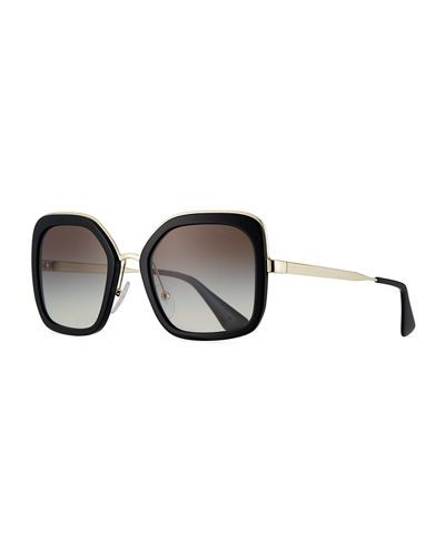 eb01931a922 Rimmed Square Metal Sunglasses Top Designers