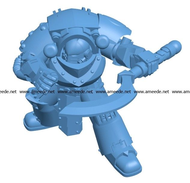 Dabinator With Khopesh B003396 file stl free download 3D