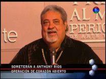"""Anthony Ríos: Su Estado, En Qué Ha Quedado La Operación Y Más En """"TV Revista"""" #Video"""