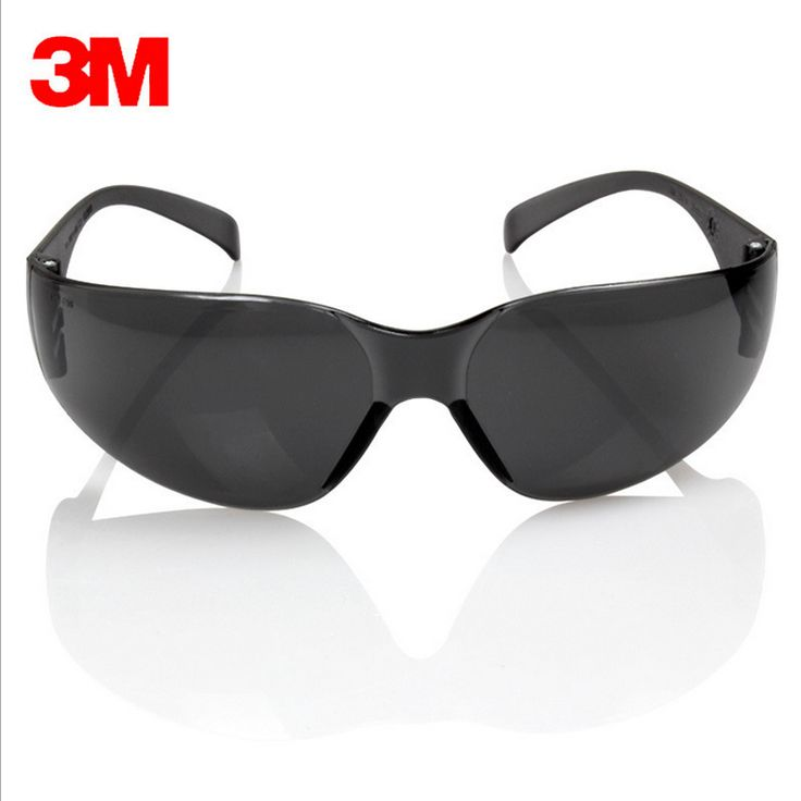 3M 11330 Safety Potective Black Goggles Glasses For Anti-UV Sunglasses Anti-Fog   Shock proof working Eyes Protection Glasses