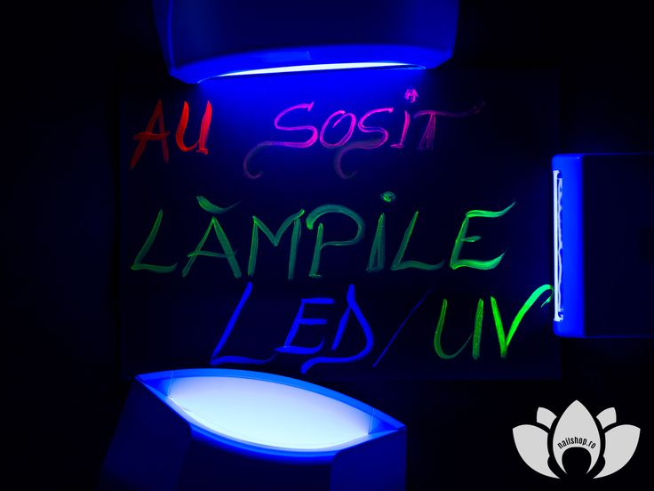#new #led #lamps #lednaillamps  #nailshop.ro