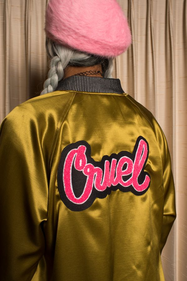 Cruel Satin Jacket