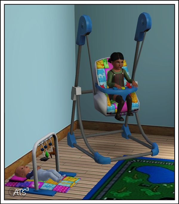 Around the Sims 3 | Custom Content Downloads| Objects | Kids | Sims 2 to 3 - Baby Stuff