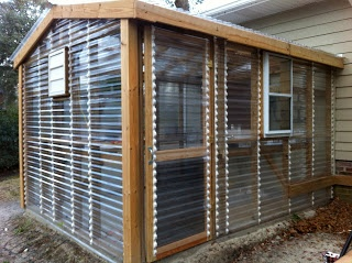 Love This Greenhouse Design With The Clear Corrugated Panels. Great Blog  Too About Homesteading,