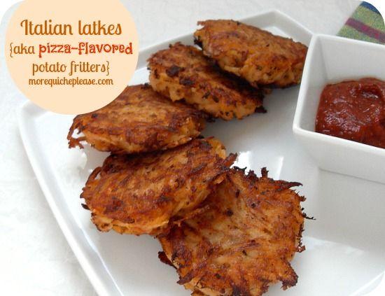 Italian Latkes from More Quiche Please