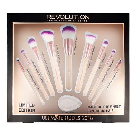 Makeup Revolution Ultimate Nudes Brush Collection 2018 | tambeauty.com