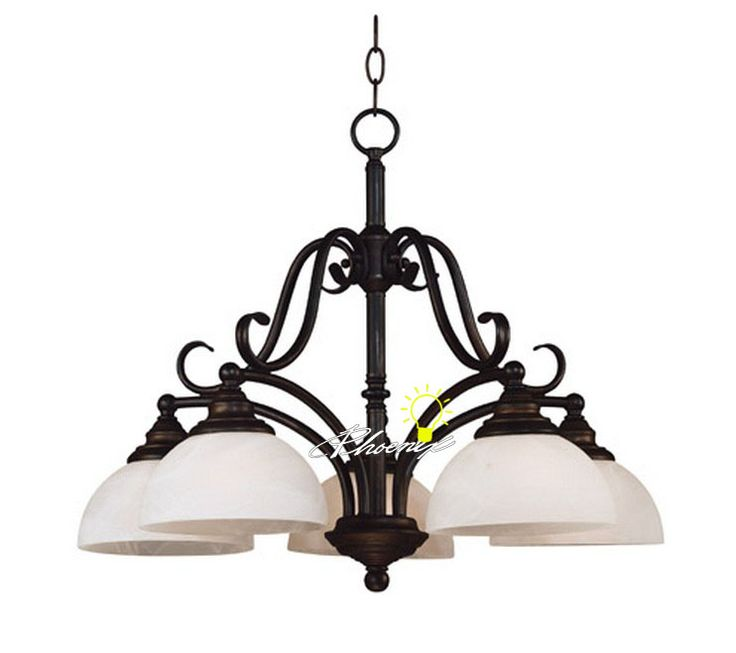 Browse Project Lighting And Modern Fixtures For Home Use Antique Country 5 Coffee Iron Art Lights Chandelier 8576