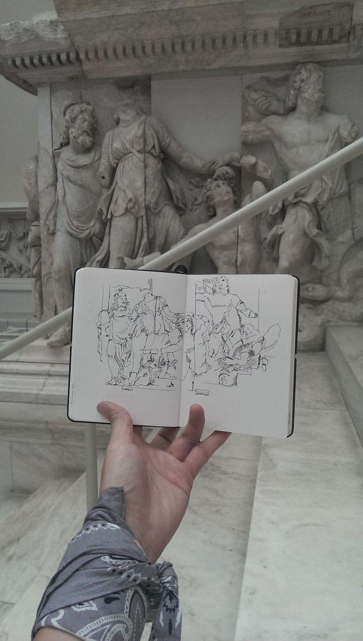 I Sketch On Every Single Bus, Train And Airplane I Board ~~ Cherngzhi [Pergamon