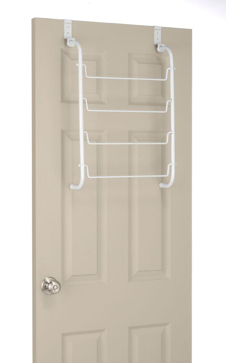 amazoncom whitmor over the door towel rack white