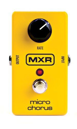 MXR M152 Micro Flanger Guitar Effects Pedal by Jim Dunlop. $72.53. Save 53% Off!