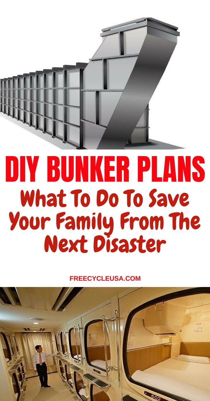 How to build your own underground bunker for survival freecycleusa survivalbunker bunkerplans disastershelter