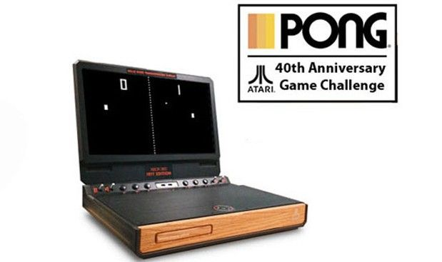 Interesting that the 40th anniversary of Pong is a portable XBox with a wood panel front -- despite Pong (nor any game console) ever being made of wood. Wood is timeless but also *communicates* timelessness. [From Atari celebrates 40 years of Pong with new, free iOS Pong game, sweet portable Xbox 360]