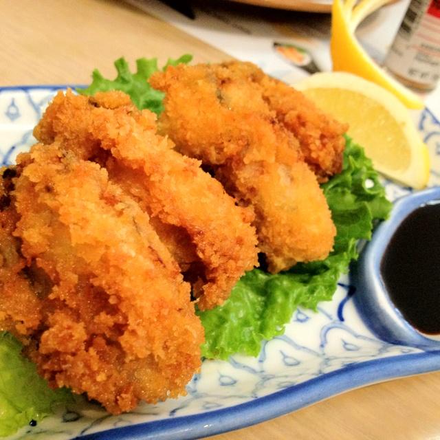 Deep Fried Oysters @ Tsuru Sushi