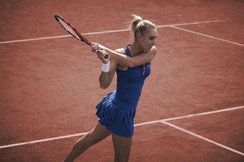 021 LACOSTE Roland Garros 2015 Elena Vesnina