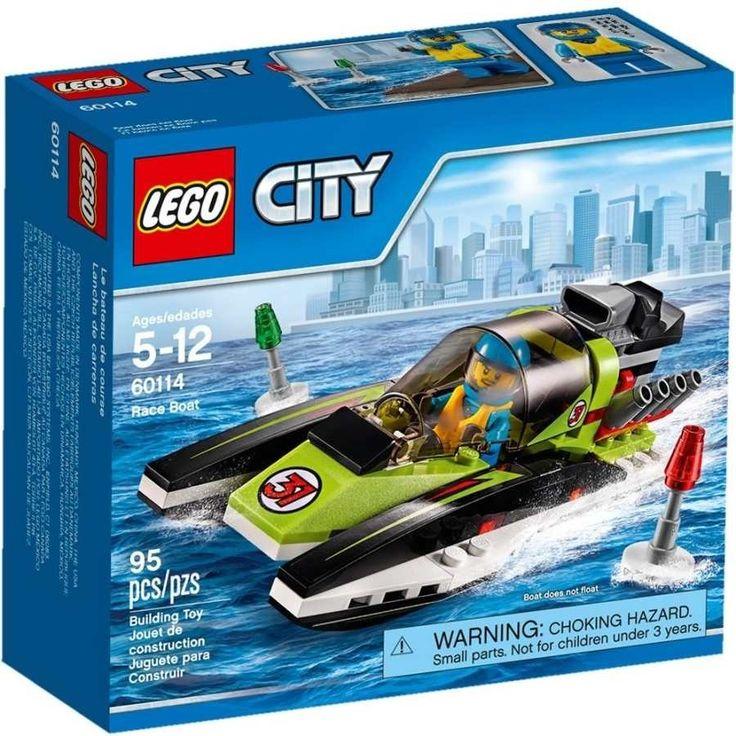 Lego City 60114 Závodní člun - 0