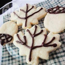 Фото рецепта: Простое песочное печенье