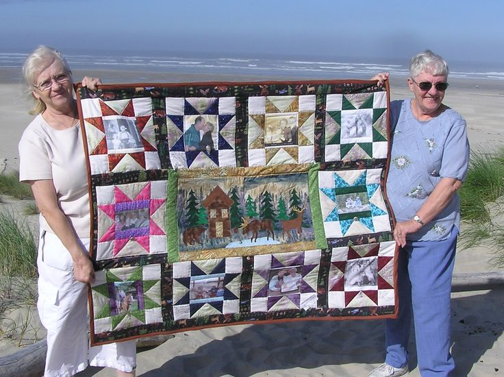 Memorial quilt I made for my sister Connie, 2009.