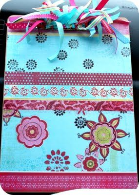 *Red Poppy Quilts*: Back to School -- Decorated Clipboard Tutorial