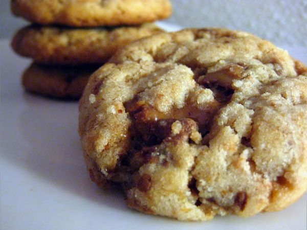 Heath Crumble Cookies. I just made these and they are YUMMY!