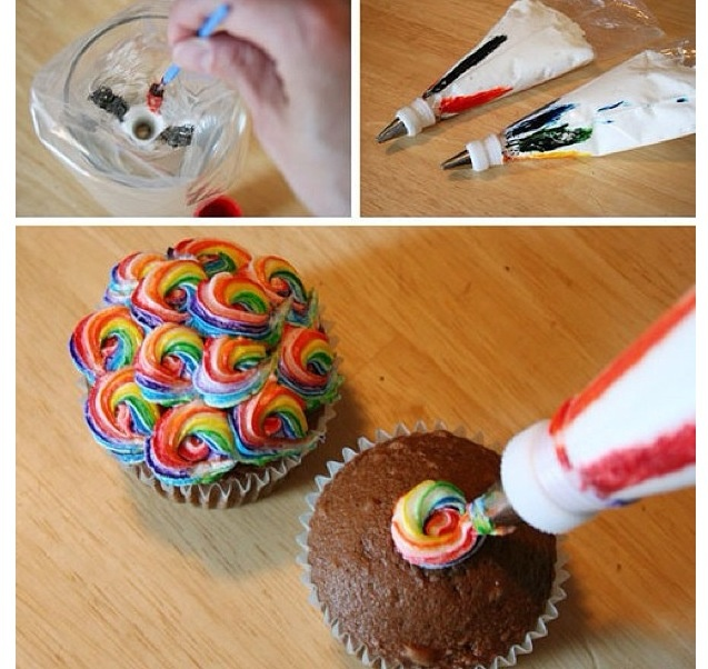 A good idea for when i am using my piping bag!!!!!!!