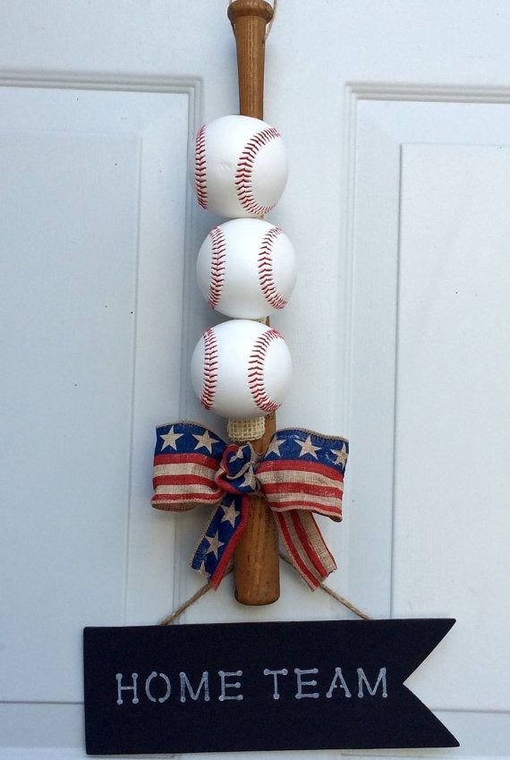 Hey, I found this really awesome Etsy listing at https://www.etsy.com/listing/230662295/home-team-baseball-wreath