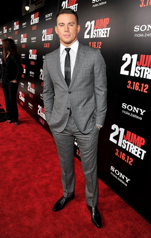 classy ;)21 Jumping Street, Grey Suits, Channing Tatum, Eye Candies, 21 Jump Street, Handsome Man, White House, Photos A Day, Channingtatum