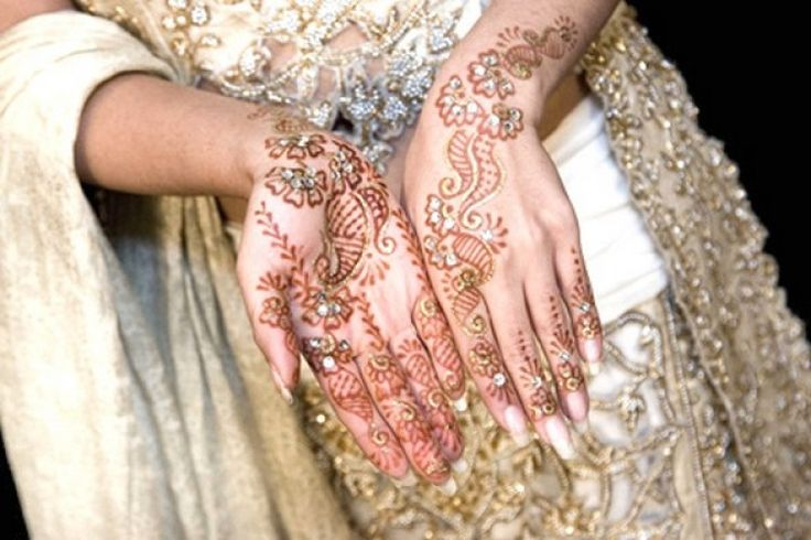 Hands Mehndi Design Arabic