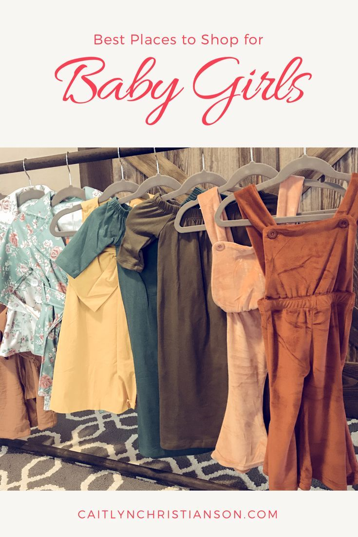 c76fa5d829 Best Places to Shop for Baby Girls! I love Bailey Blossoms! So in ...