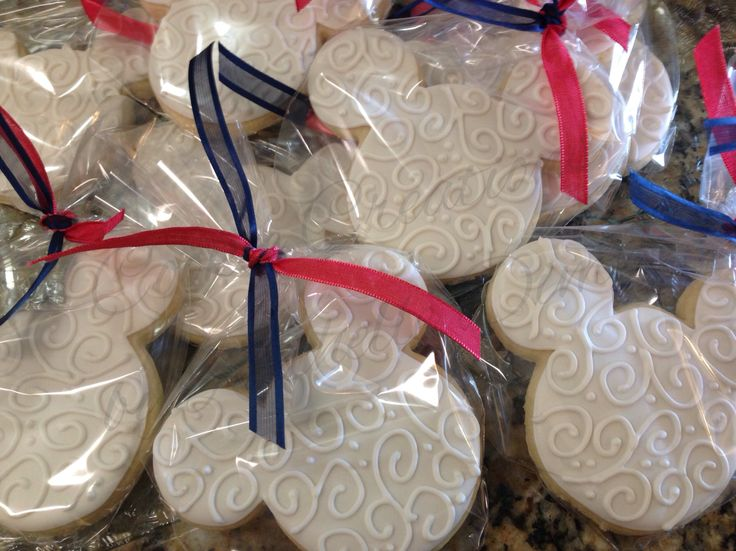Disney Party Ideas Disney Wedding Mickey Mouse wedding cookies