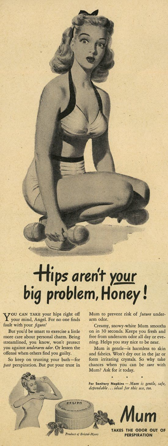 Hips aren't your porblem, it's BO