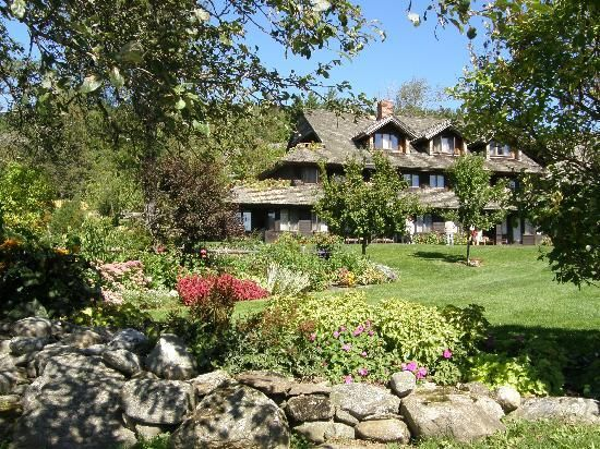 Stowe, Vermont. This is the Trapp Family Lodge. My dream is to visit and stay here!