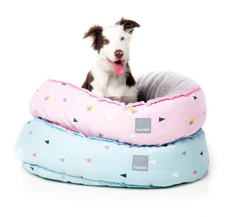 FuzzYard Dusk and Ocean Breeze Reversible Pet Beds