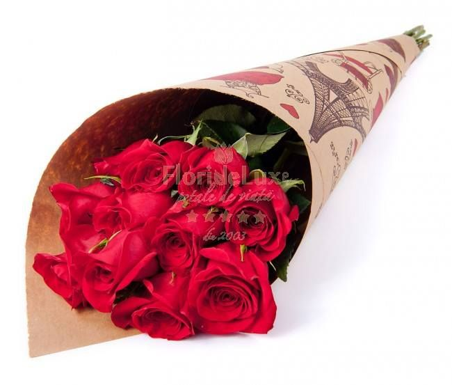 red roses, fresh flowers, delivery to romania, free delivery