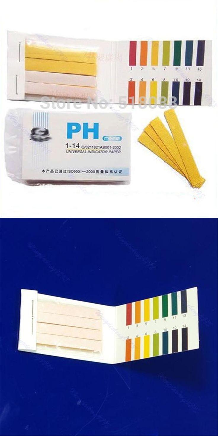 [Visit to Buy] OOTDTY 80 Strips PH Test Strip Aquarium Pond Water Testing PH Litmus Paper Full Range Alkaline Acid 1-14 Test Paper Litmus Test #Advertisement