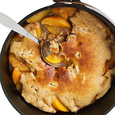 Camping Recipes: Dutch-Oven Peach Cobbler