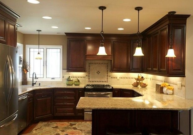 69 best kitchen cabinet ideas images on pinterest for Small square kitchen ideas