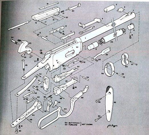Winchester Model 94 Parts Diagram