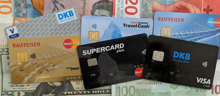 Bargeldbezug im Ausland ohne Gebühren