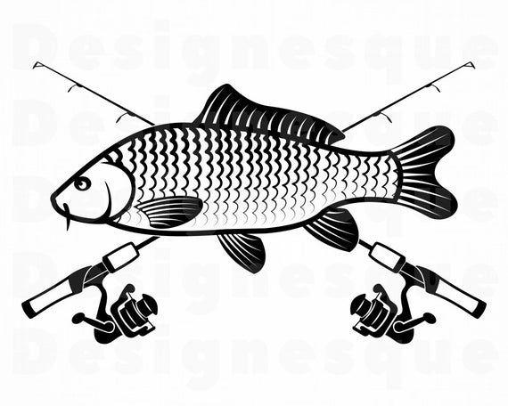 Download Carp Fishing Svg Fishing Logo Svg Fish Svg Fishing Clipart Etsy In 2021 Fish Logo Fish Svg Fishing Svg