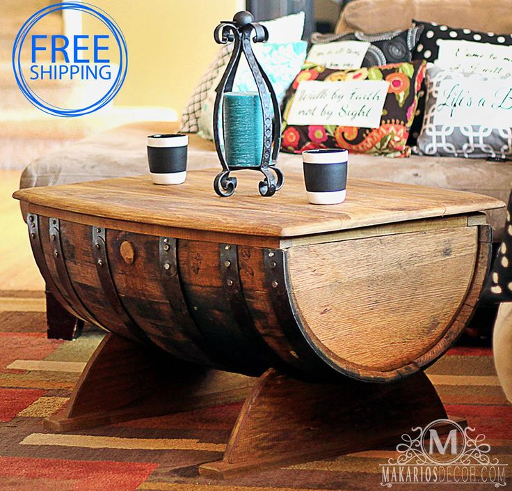 25 Best Ideas About Whiskey Barrel Table On Pinterest Barrel Coffee Table Wine Barrel Coffee