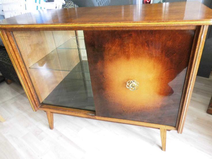 kurt j ngling sideboard kommode vitrine schrank 50er jahre vintage barschrank home pinterest. Black Bedroom Furniture Sets. Home Design Ideas