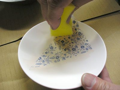 How To Apply Japanese Tissue Transfer Papers Ceramic Techniques