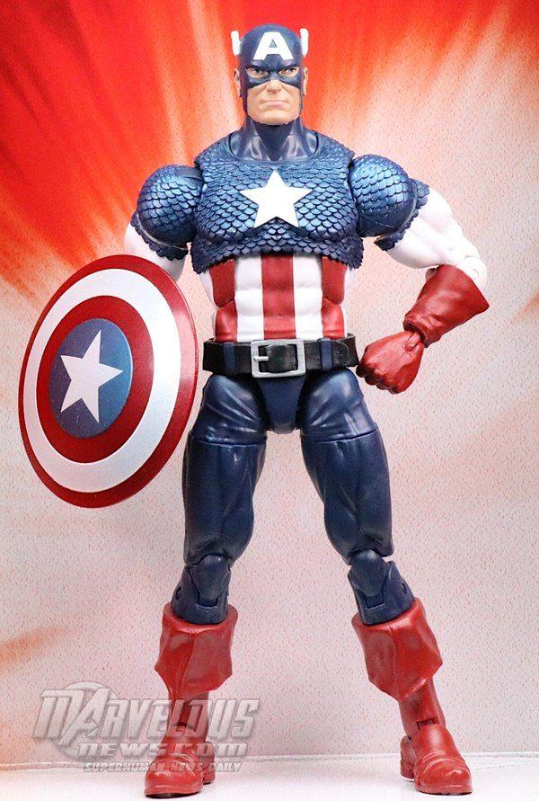 Walmart Exclusive Marvel Legends Series 80th Anniversary Captain America